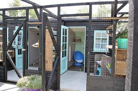 zomerhuisje kattenhotel Schagen