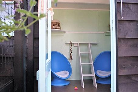 zomerhuisje kattenpension Alkmaar
